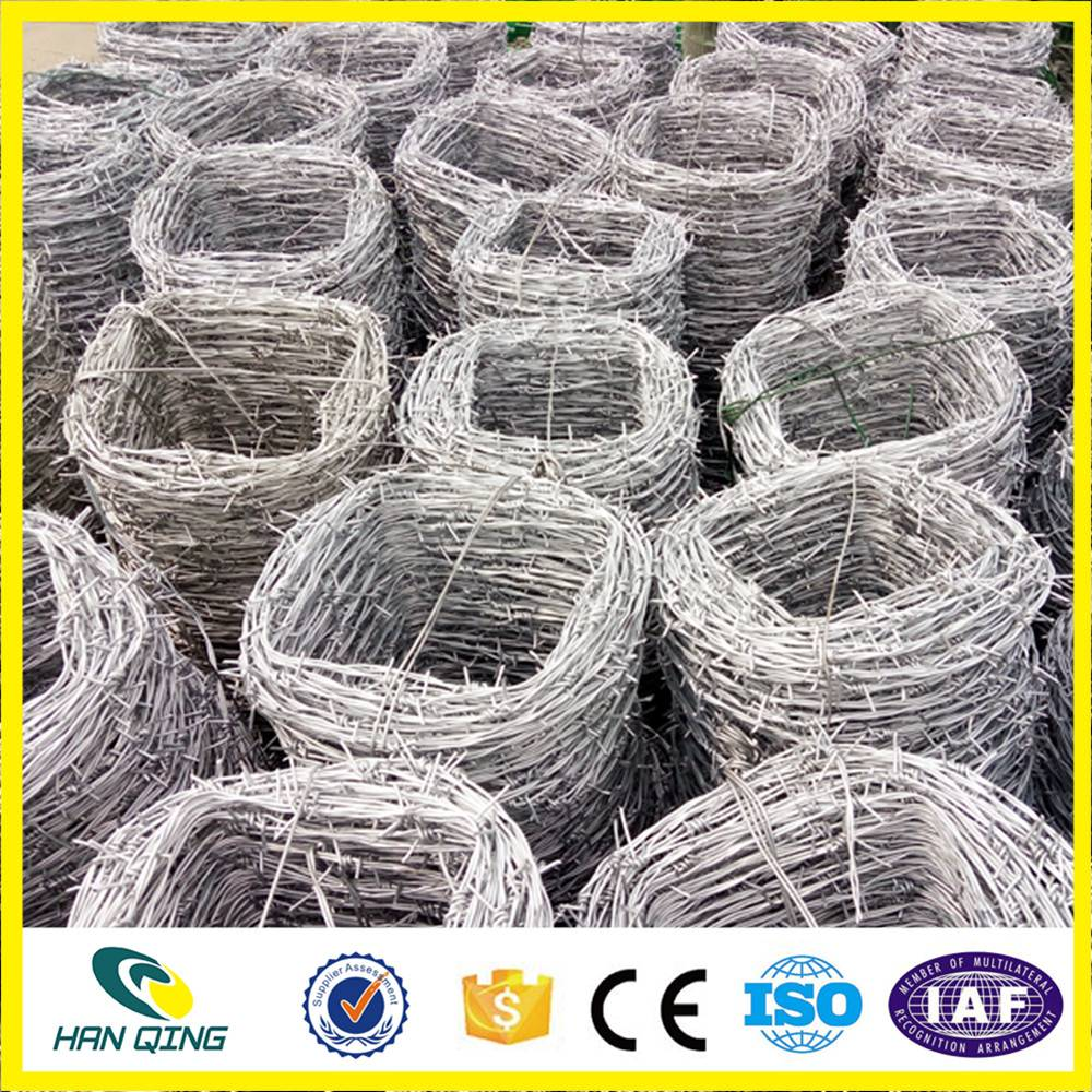 1.5cm barbed length concertina barbed wire mesh