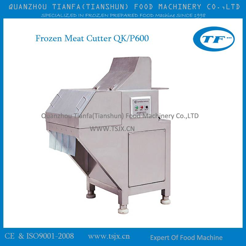 high capacity frozen meat cutter