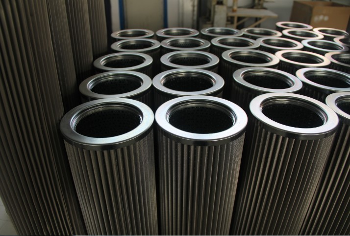 Stainless steel pleated filter elements/multi-layer stainless steel folding wave filter cartridge