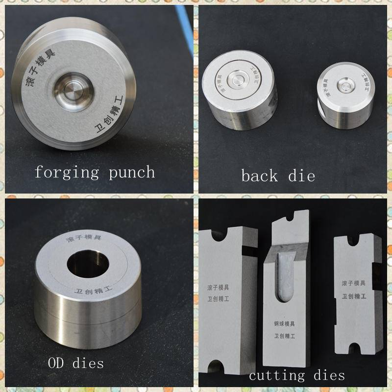 cold forging die design ball bearing rollers tungsten carbide dies