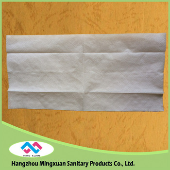 China manufacturer wedding paper serviettes tall fold napkin