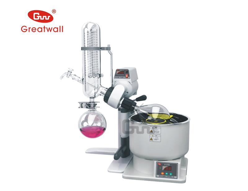 Lab Scale Rotary Evaporator 1L 2L Glassware Distillation Apparatus