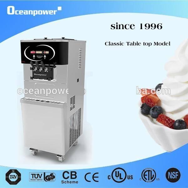 [Direct Sale]OceanPower Soft Ice Cream Machine.OP138CS Floor model Frozen Yogurt Machine Very Reliab