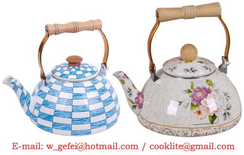Enamel Teapot / Enamel Kettle