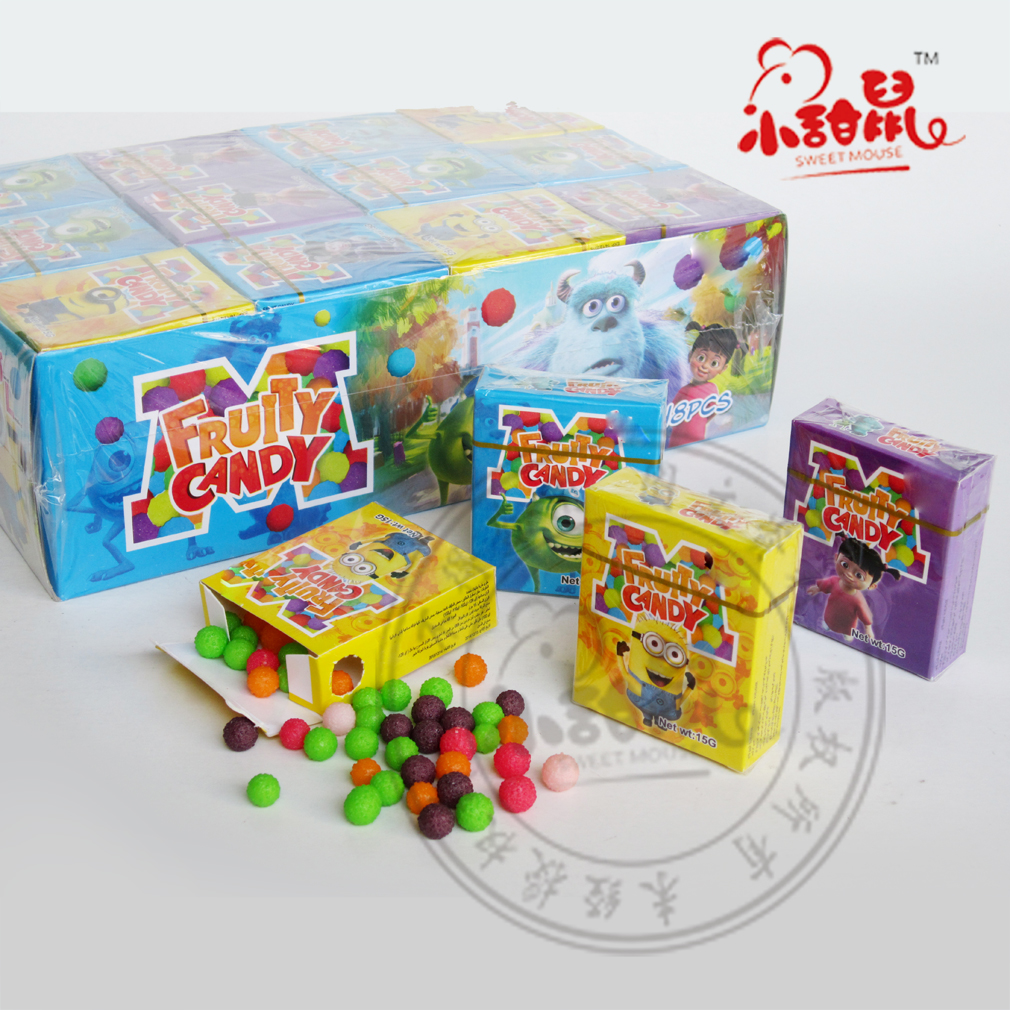 Colourful Waxberry Fruits Press Candy