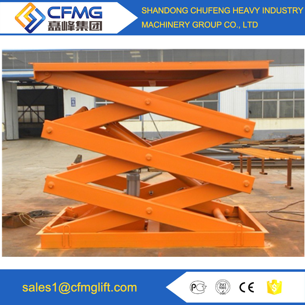 10m mobile scissors man work lift