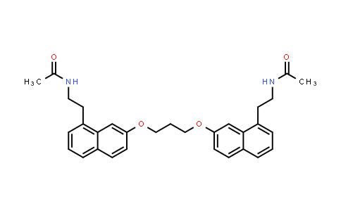 S26131/N-[2-[7-[3-[8-(2-acetamidoethyl)naphthalen-2-yl]oxypropoxy]naphthalen-1-yl]ethyl]acetamide