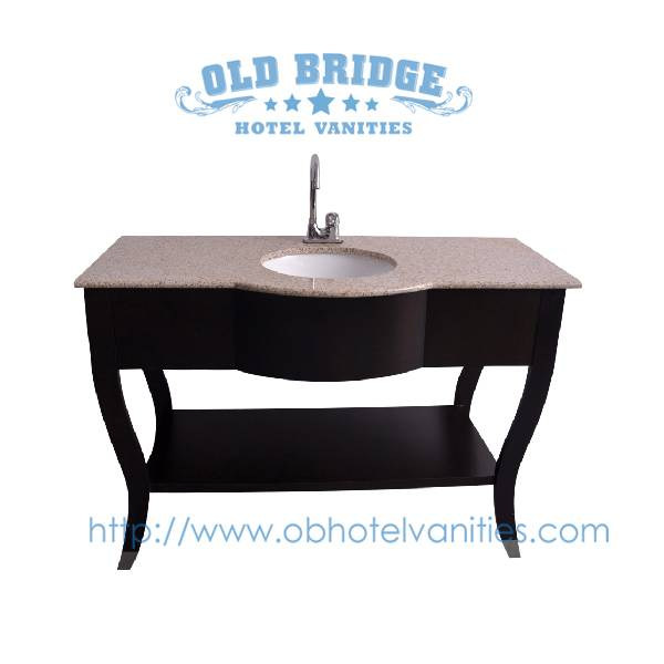 High quality bathroom cabinets vanity base with wooden legs