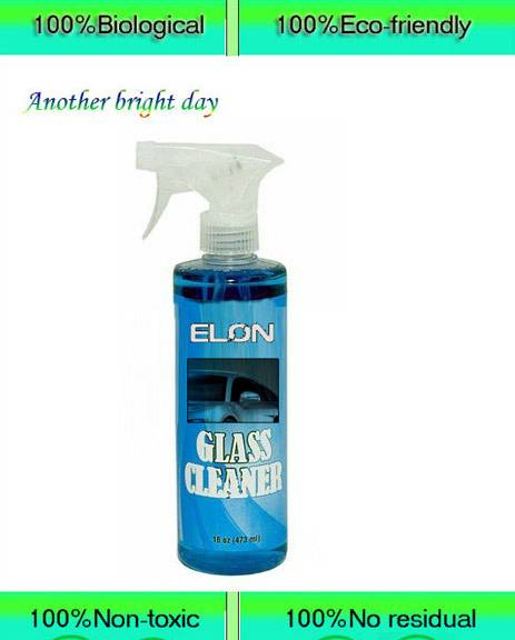 All natural eco-friendly car glass spray