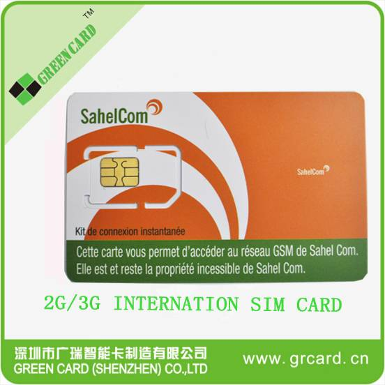 6pin 8pin SIM card without number can be programmable