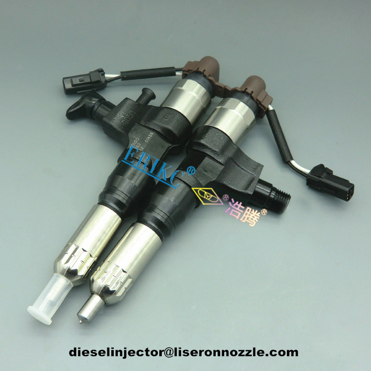 Common Rail Diesel Injector Assembly 095000-6395 for Hino Kobelco 350 Excavator