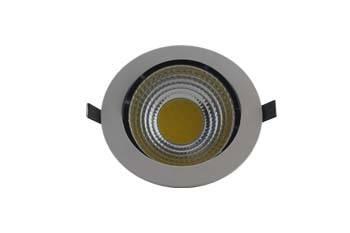 led downlight AC85-265V 5W  COB LED  400-430LM  118x110mm  90mm