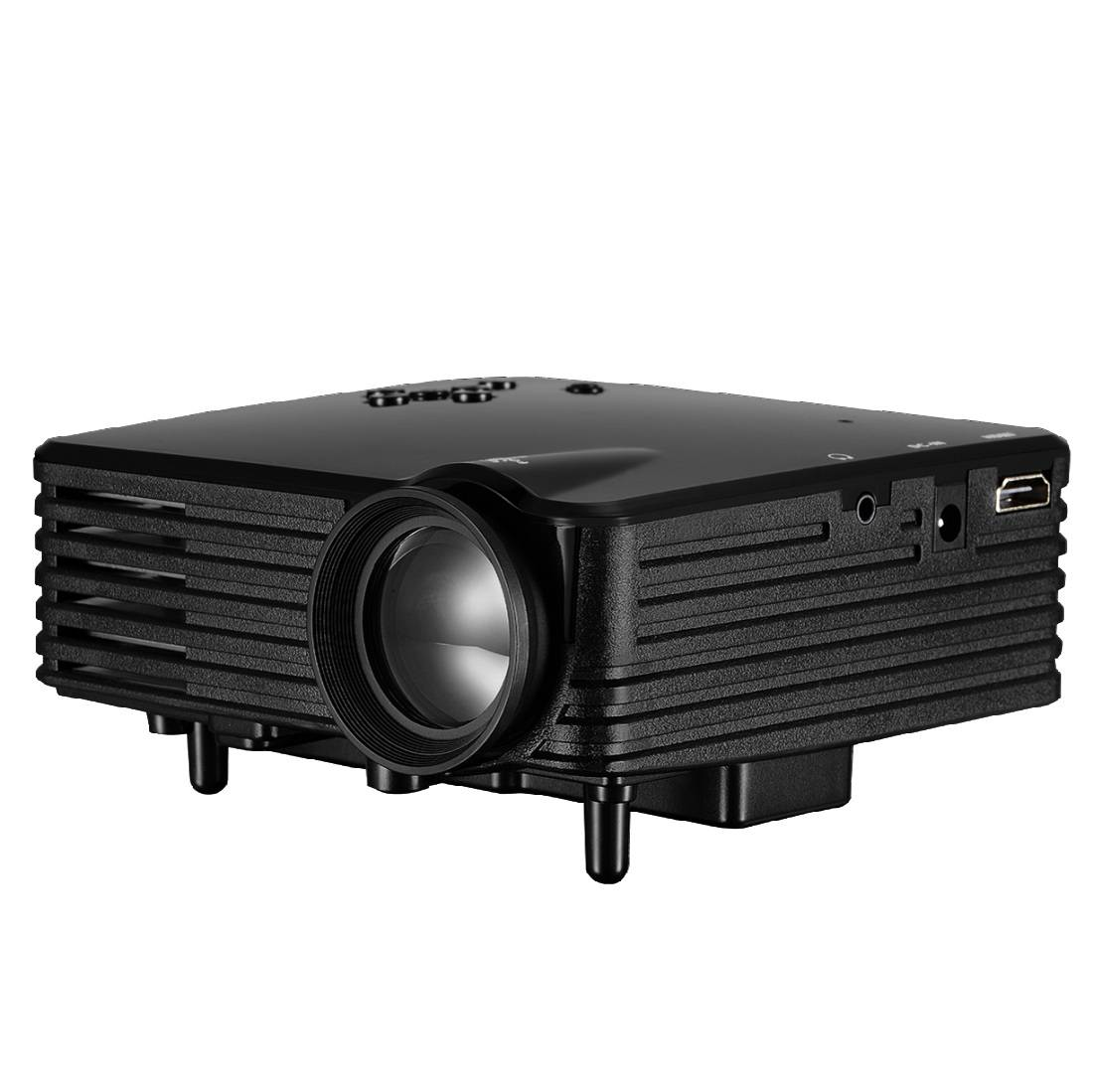 Mini Projector for the Home use Support 720P Smart Phone cheap Tablet PC projector, not home theater