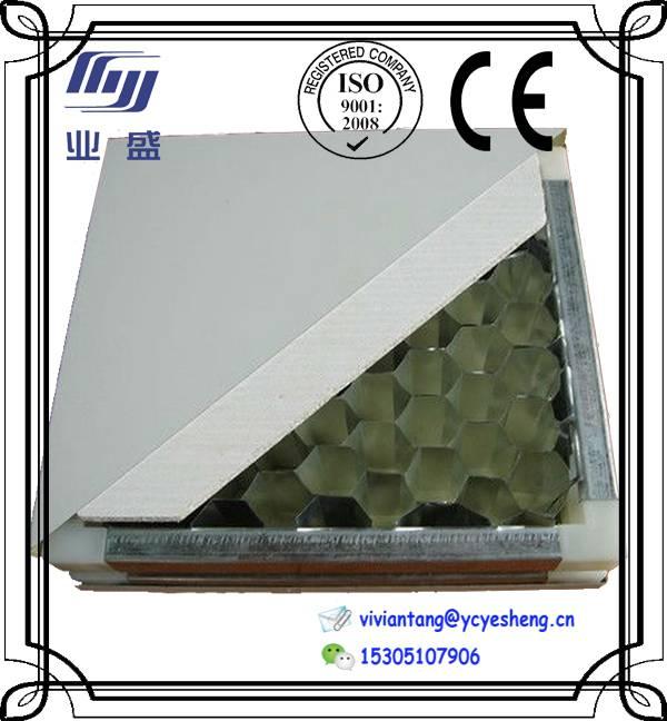 aluminium honeycomb sandwich panel