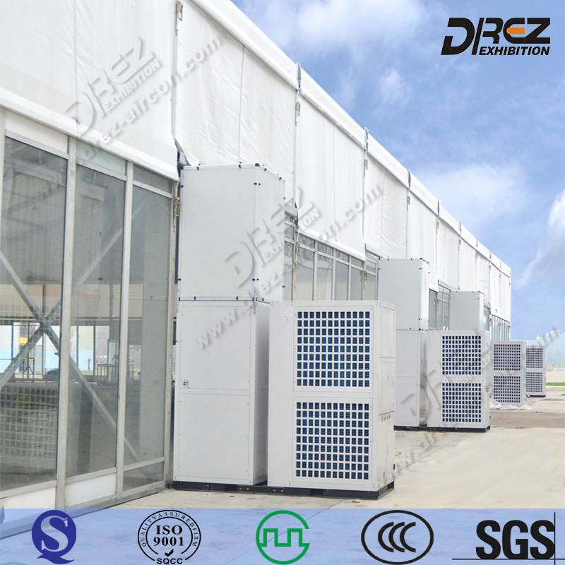 Packaged Commercial Air Conditioner for Outdoor Event