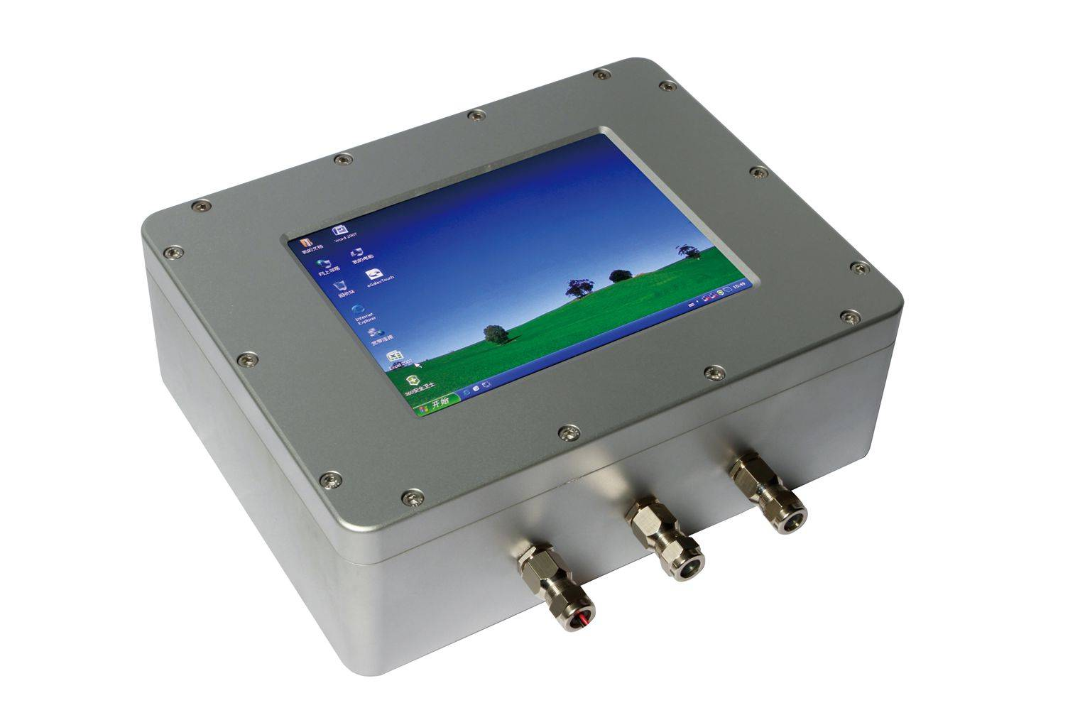 explosion proof moniter, explosion protect terminal display, anti-explosion monitor