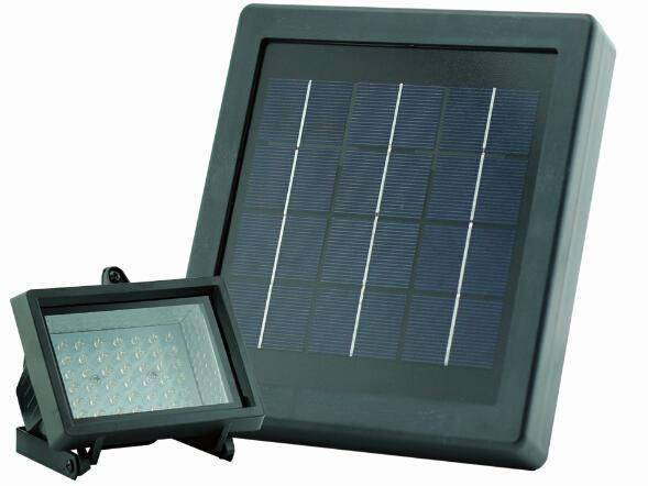 Promotion Solar Panel LED Flood Security Garden Light Sensor 42 LEDs Path Wall Lamps Outdoor Emergen