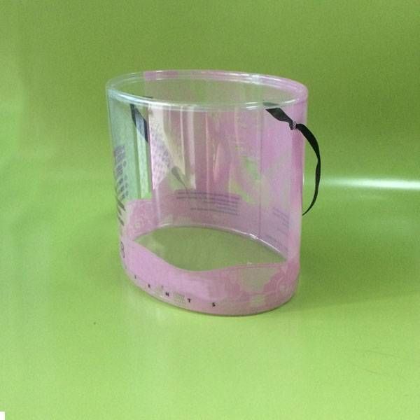crystal clear plastic cylinder