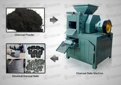 Charcoal Ball Machine