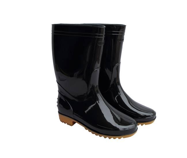 Wellington PVC Rain Boots, Safety Shoes