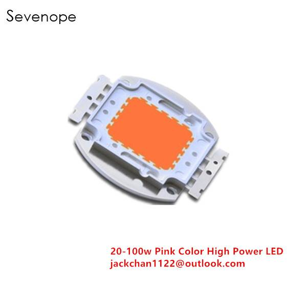 100w Pink Color High Power LED Diode