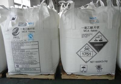high quality Monochloroacetic Acid(MCA) 99%MIN