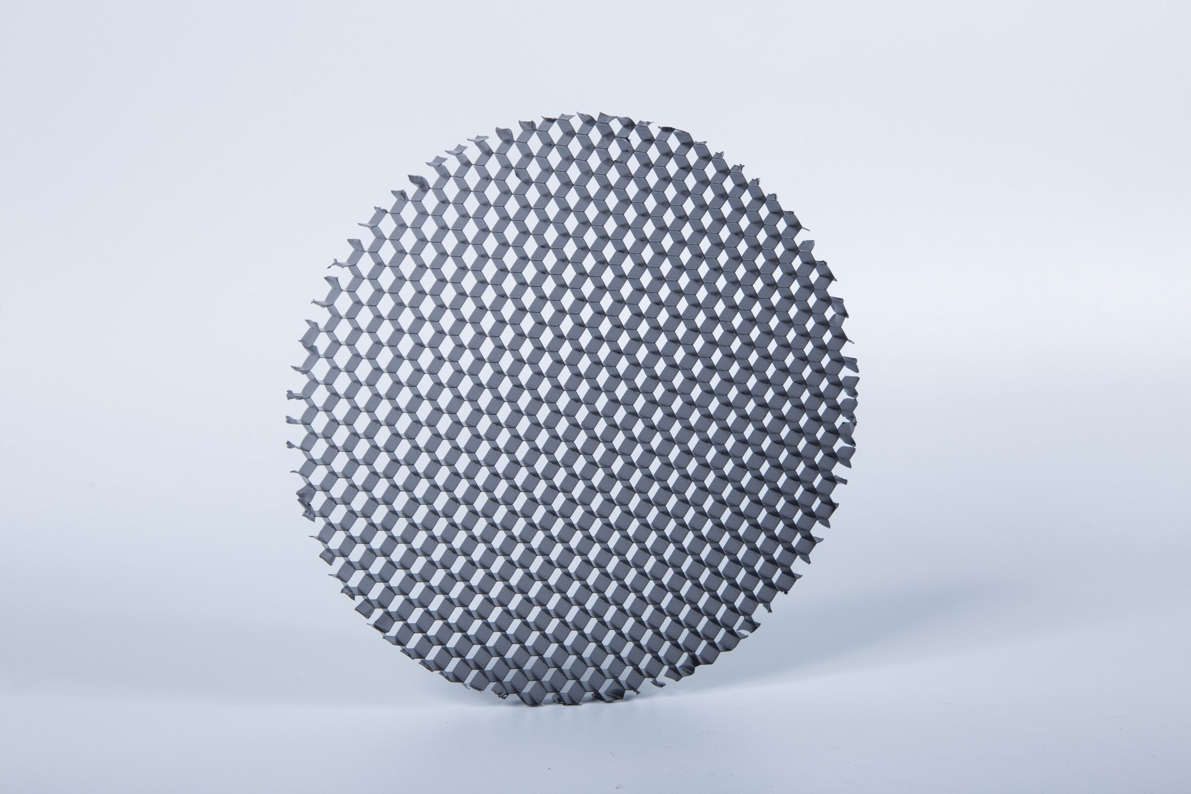 Honeycomb louver
