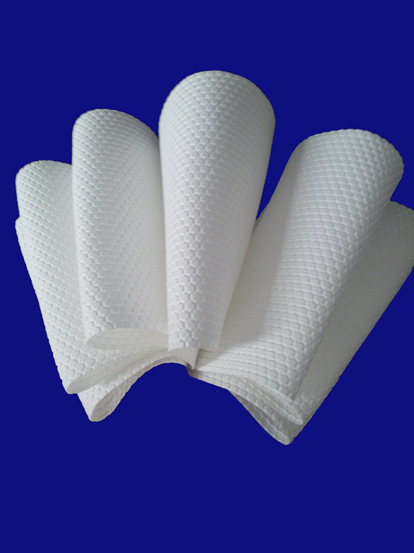 embossed hexagonal spunlace nonwoven fabric