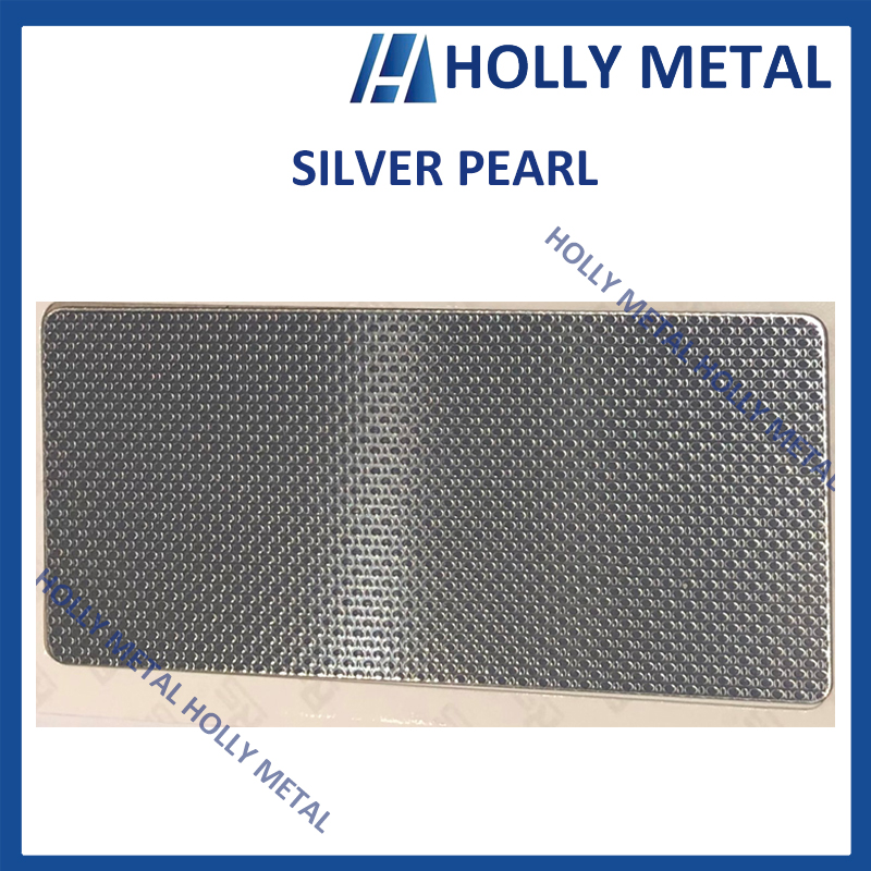 Stainless Steel Decorative Sheet Grade 201 304 (Silver Pearl)