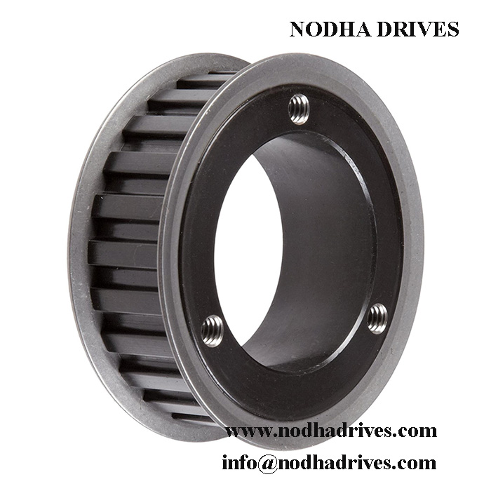 QD type timing belt pulley