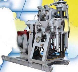 Hydraulic High Speed Diamond Drilling HZ-130T Aluminium Drilling Rig