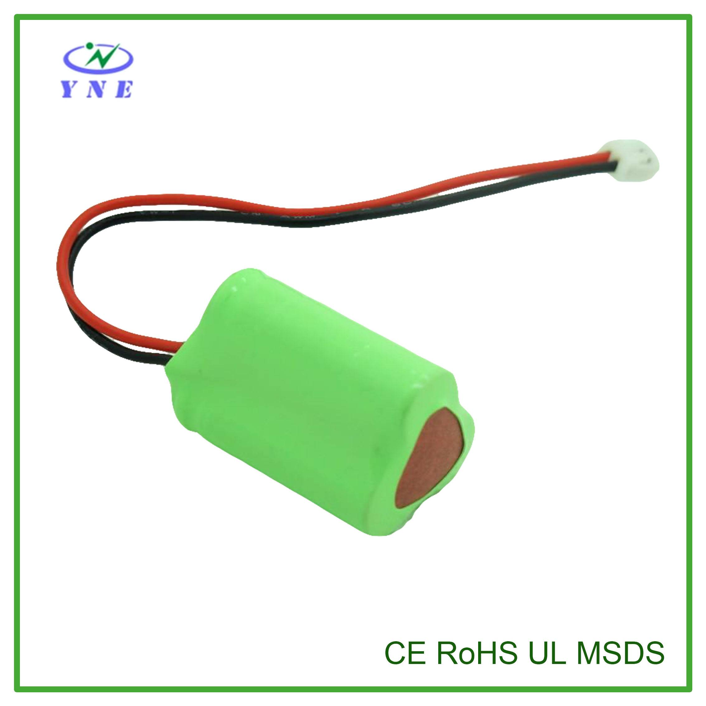AA 3.6V 600mah Ni-MH Rechargeable Battery