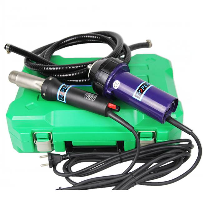 Leister hot air gun/Hot sale 20mm wide slot nozzle 1600w heat gun for banner/lightweight welder
