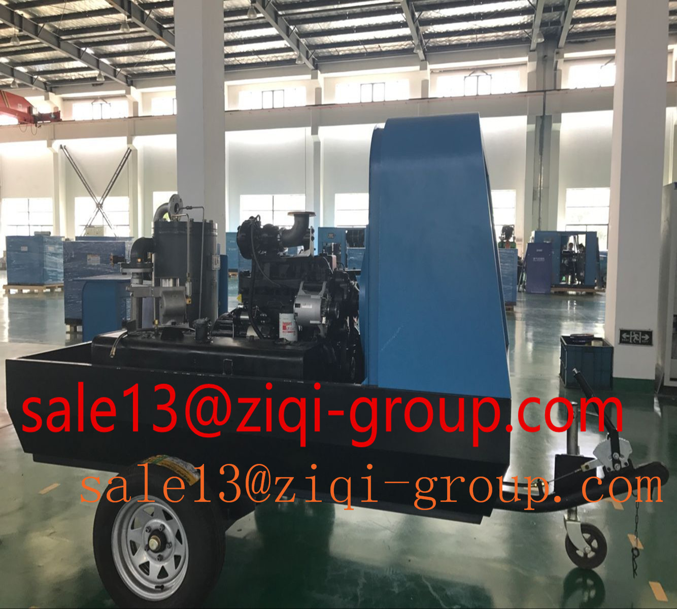 Portable Diesel Screw Air Compressor 22KW-336KW Diesel Portable Screw Air Compressor