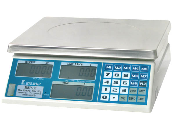 Digital Price Computing Scale (MEP Series)