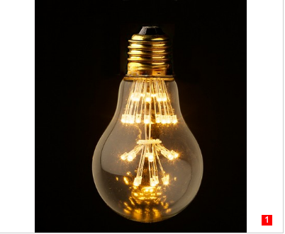 A19 LED vintage Edison light bulb