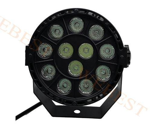 Plastic LED Par 12*1W RGBW Light