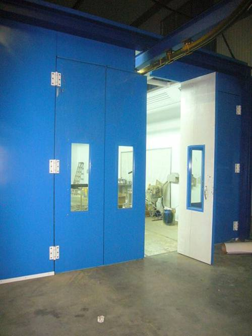 PLC Control System Painting Room Spray Booth for Car