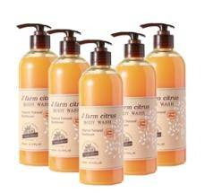 J' farm citrus Body Wash