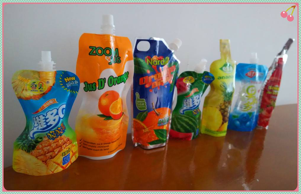 blueberry Flavor in spout stand up pouch/sachet filling and capping packaging line/machine