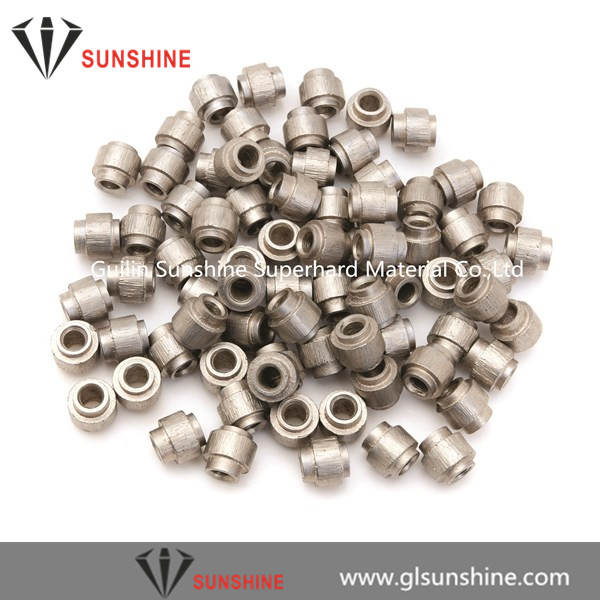 10.5mm 11mm diamond wire saw beads for limestone quarry