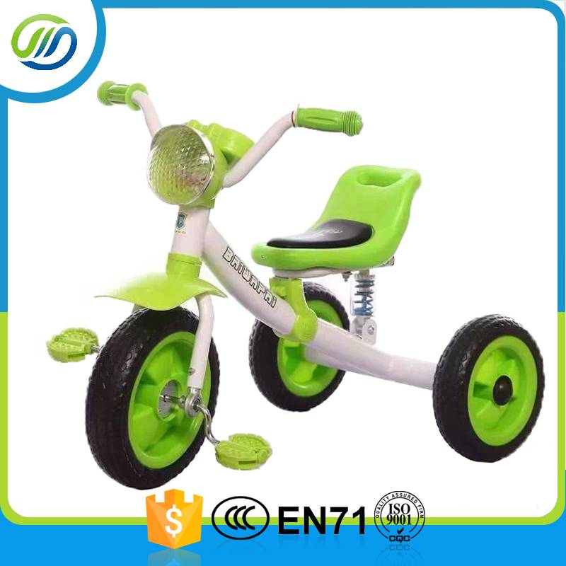 Big light metal materials kids tricycle