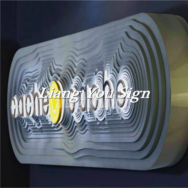 Exhibition Popular Acrylic customized 3d names of electronics shops