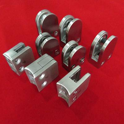Factory Price Glass clamps Connectors With S.S.304/316