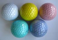 Neon color Tournament golf ball