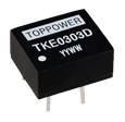 Single Output DC-DC Converter / TKE / 1W / 3KVDC Isolation / DIP or SIP
