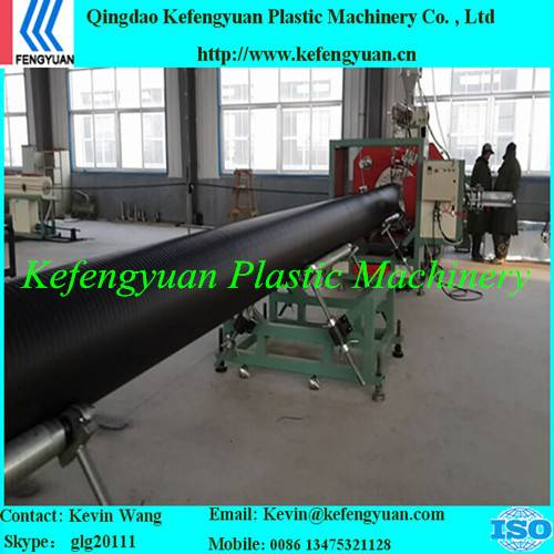 KFY large diameter hollow wall winding pe hdpe pipe tube machine