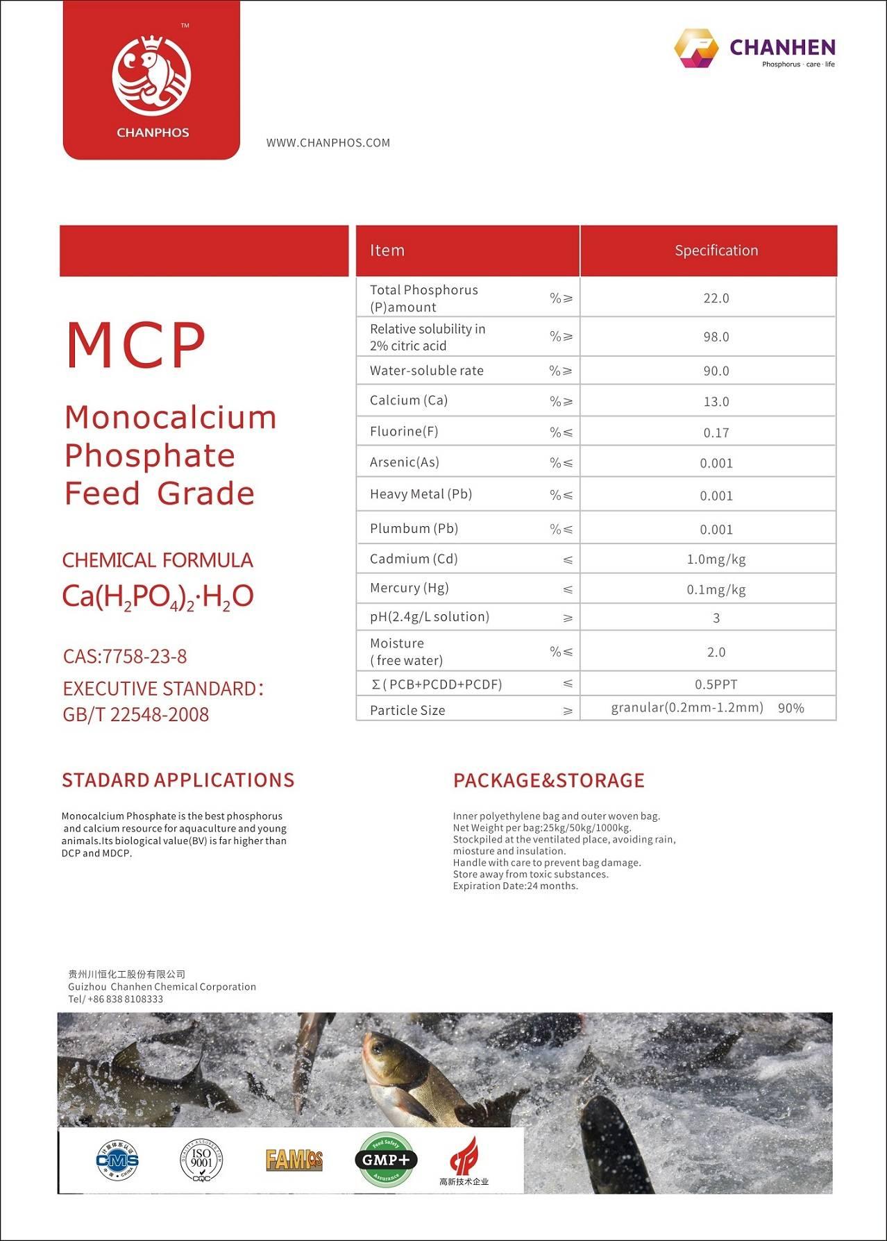MCP 22% GRANULAR AND POWDER