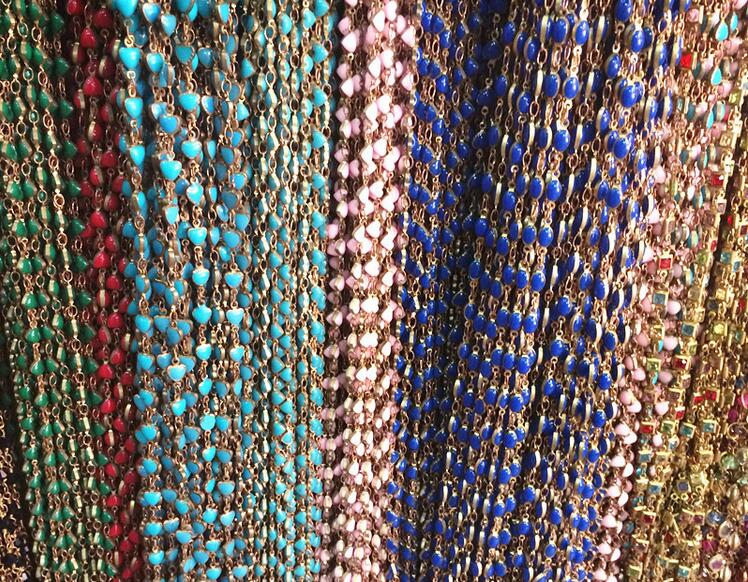 chains with beads