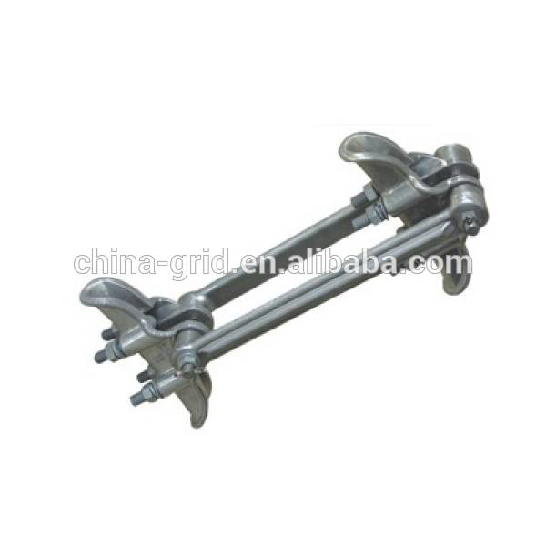 High Mechanical Strength Aluminum Alloy Suspension Clamp for Twin Conductors